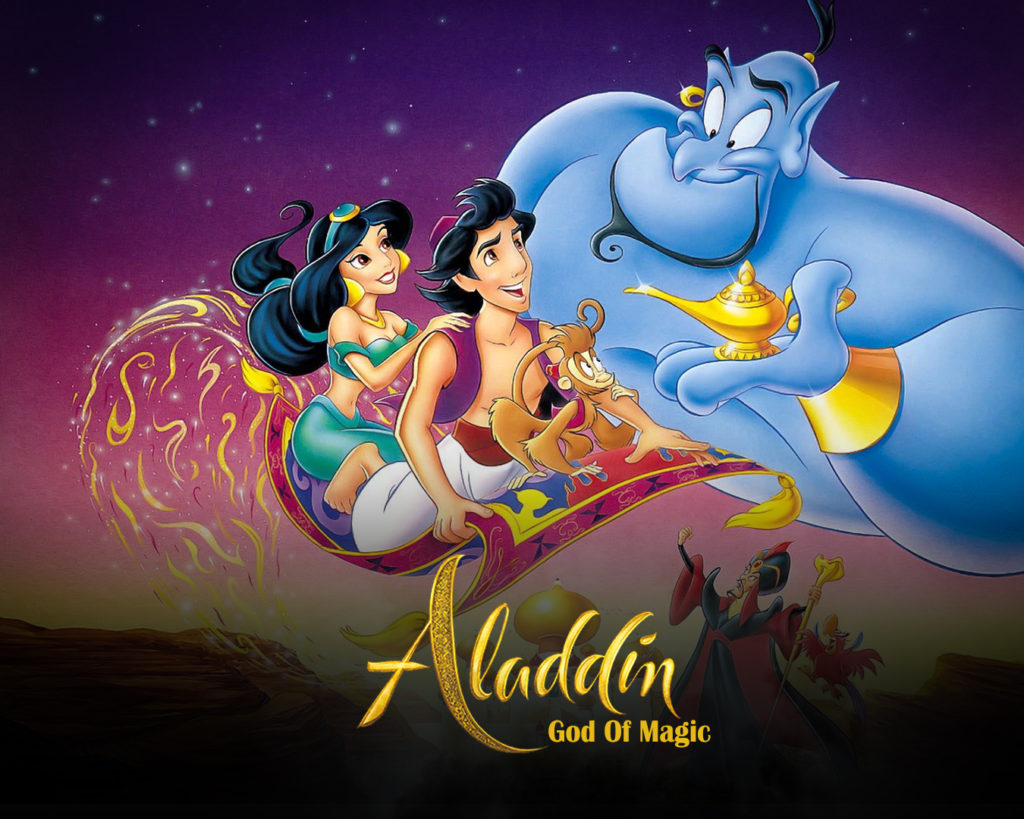Aladdin the god of magic