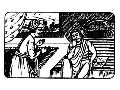 Akbar and Birbal Image