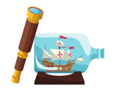 Ship inside
