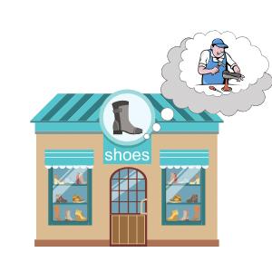 Shoemaker shop