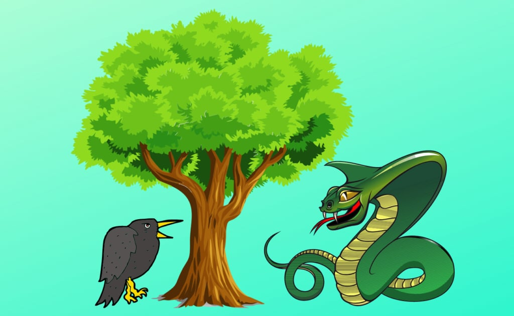 cobra and crow tree