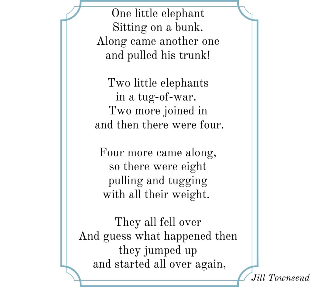 best animal rhyme on elephant