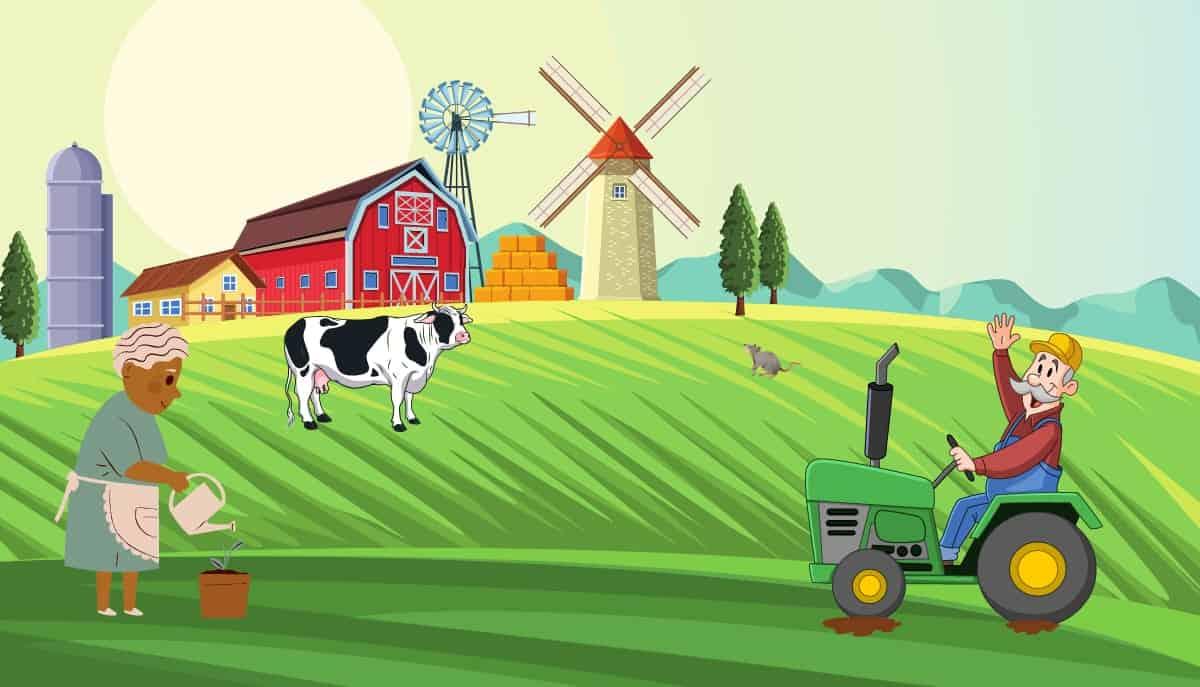 farmer in the dell rhyme