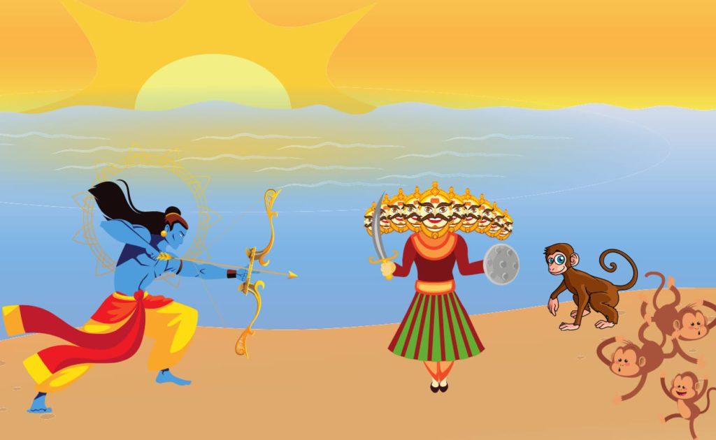 ravana kill by rama