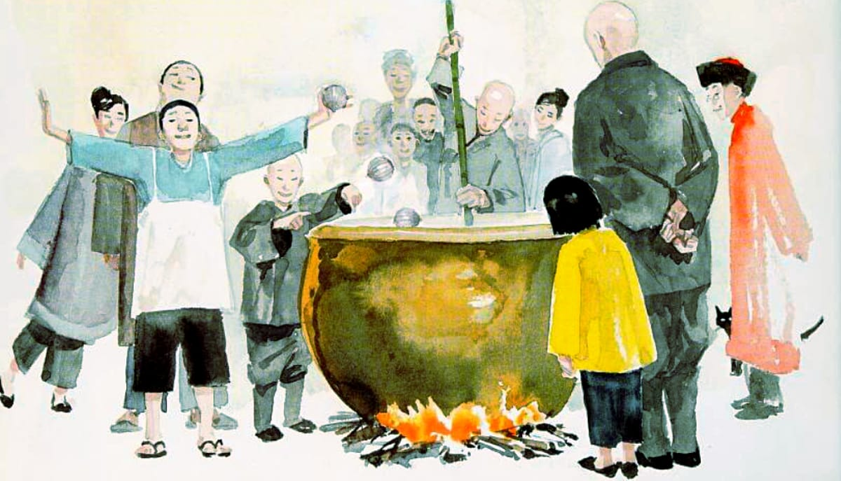 Stone Soup Story for kids