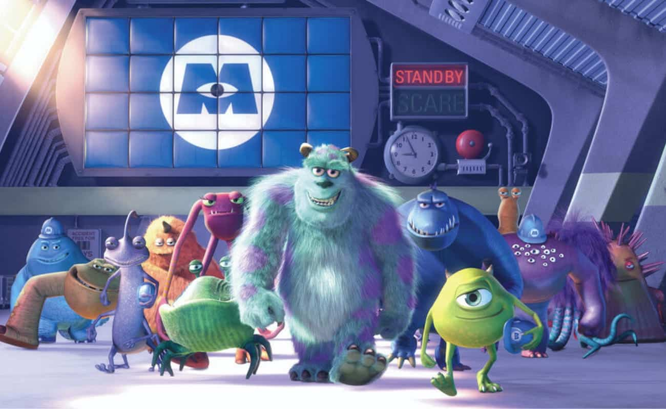 monster inc story