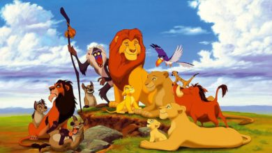 the lion king story