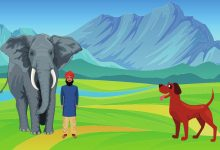 An Elephant And The Dog Story