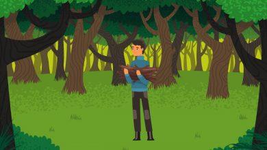 wood gatherer story